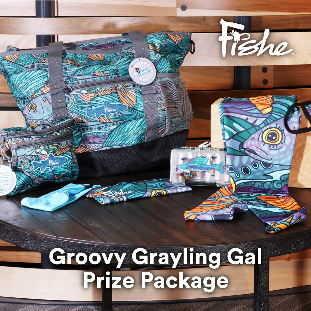 Groovy Grayling prize package